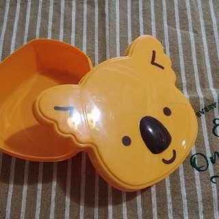 LOTTE樂天小熊餅乾盒