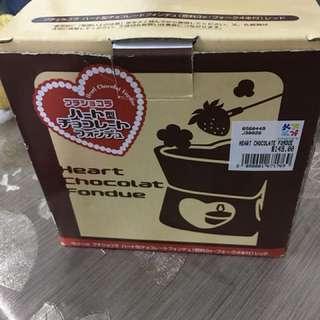 Valentine's Day chocolate hotpot 朱古力火鍋 cheese fondue 芝士火鍋情人節