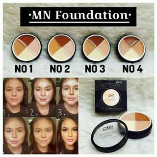 Menow Foundation 4in1