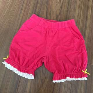 Hallmark Toddler Shorts with frills 1-1.5 years