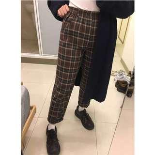 格子 褲 (私物)
