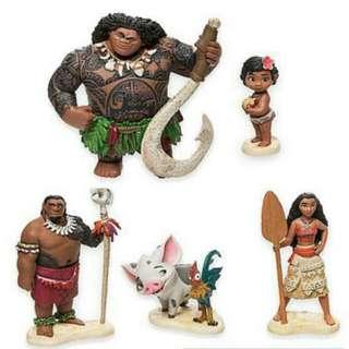 Figure Moana, Pajangan Moana