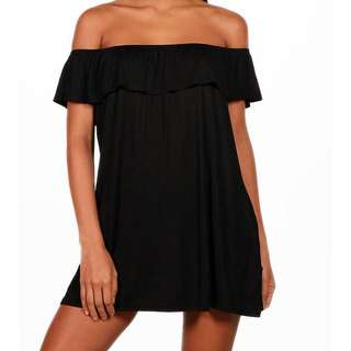 Black Off the Shoulder Dress BRAND NEW WITH TAGS