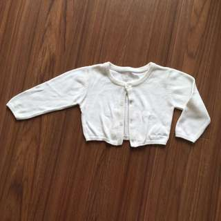 Tutto Piccolo Baby cropped cardigan