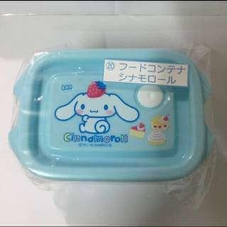 Sanrio Cinnamoroll 玉桂狗餐盒/食物盒一套兩件