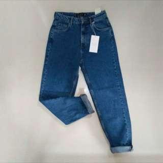 Zara High rise Boyfriend's jeans