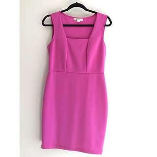 Hot pink F21 dress