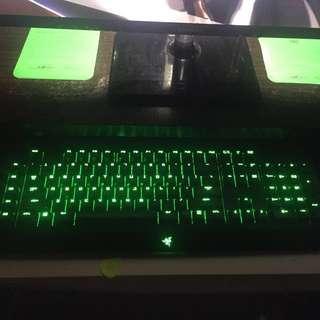 Razer Blackwidow Ultimate (Green Keys)
