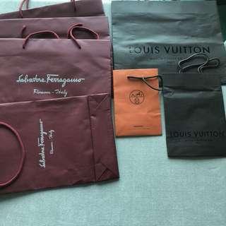 Luxury Brand Paper Bags