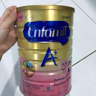 Enfamil A+ tahap 2 1800 mg