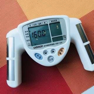 電子身體脂肪測量器