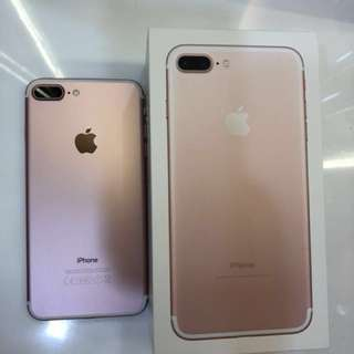 Iphone 7 plus Rose Gold* 256GB * (IN GOOD CONDITION)