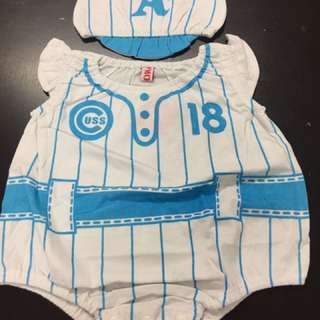 Baby Romper with hat