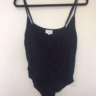 SEED bodysuit, black, M