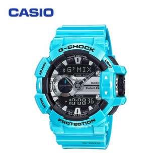 GBA-400-2 ORIGINAL CASIO G SHOCK G'MIX BLUE SPORT MAN WATCHES (WARRANTY+BOX)