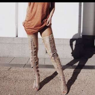 Billini thigh high extreme high heel boot shoes