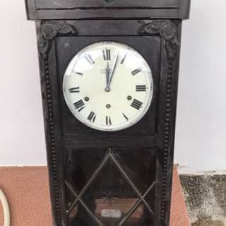 Old Dutch Wall Clock with chiming beautiful mechanism