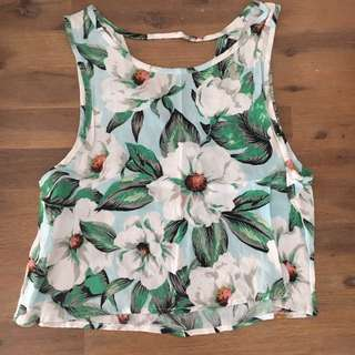 Minkpink Floral Top XS