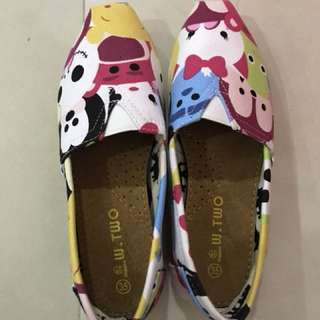 W.Two TsumTsum canvas shoes