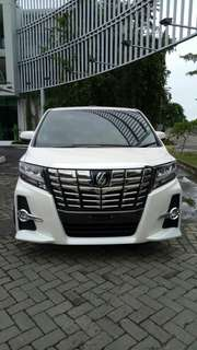 Toyota Alphard SC PS New 2017 Good Condition