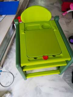 Table chair for kid wt lego storage