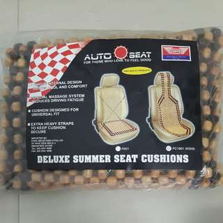 Deluxe Summer Seat Cushions