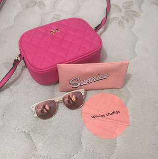 Pink Sunnies (Sunglasses