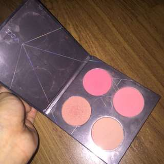 AUTHENTIC ZOEVA BLUSHER CORAL