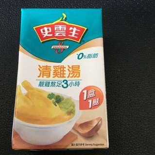 史雲生 清雞湯 1 盒1 餸 250 mL