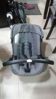 Doona Infant Car Seat Stroller (Storm Grey)