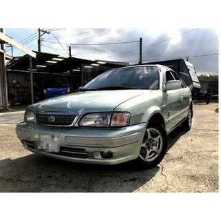 2000 豐田 TERCEL 1.5 綠