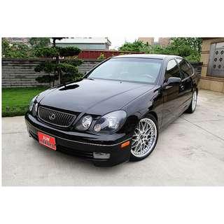 2001 LEXUS GS300 黑 3.0