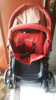 Mamalove twin/double stroller