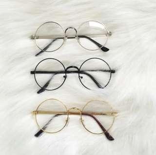 Round korean glasses