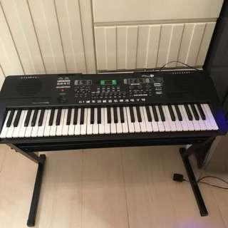 電子琴連腳架