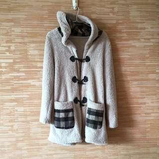 Paddington bear like brown fur jacket , coat  冬天褸 外套
