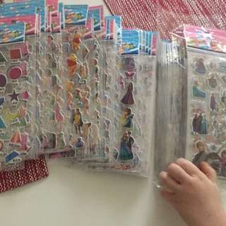 Playgroups Birthday gift bag stickers per piece