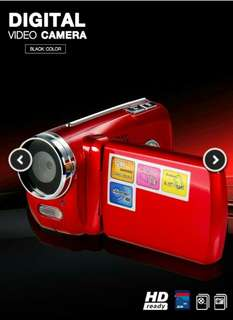 Handycam .. Red colour