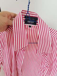 Oxford Womens business shirt w cuffsleeve