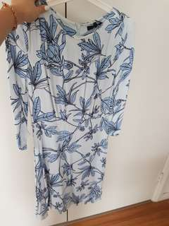 Piper floral dress 3/4 sleeve bnwt