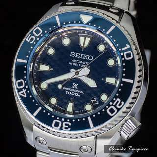 "Seiko Prospex Professional Hi-Beat 36000 Diver's 1000m ""SBEX005"" ( Seiko 135th Anniversary Version / 日本製造 / 鈦合金 / 一體成型錶殼 / 日本版 / 日本SEIKO原廠一年保用)(可簽卡/可分期/現金交易 )12/26"