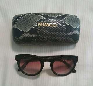 Mimco Dylan tort sunglasses BNWT