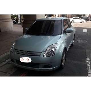 實價登陸 2006年 Swift 淺綠 搭配3500元交車方案輕鬆貸款無負擔