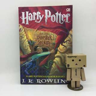 HARRY POTTER AND THE CHAMBER OF SECRETS (SOFT COVER, BAHASA INDONESIA)