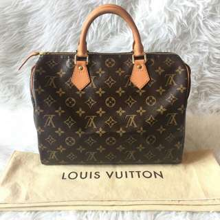 Louis Vuitton Speedy 30 Monogram 2008 | with Bag and Dustbag | NETT excld ongkir-54m