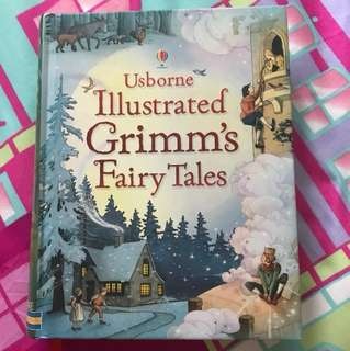 Usborne Illustrated Grimm's Fairy Tales (hardcover)