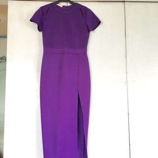 Apartment 8 long gown with slit