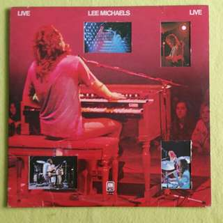 2LP.LEE MICHAELS. live. Vinyl record