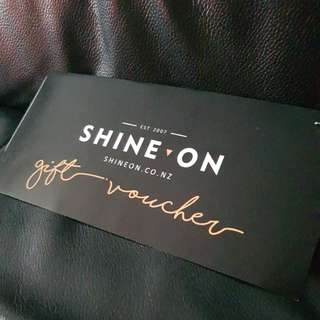 SAVE $20! Shine on $40 gift voucher