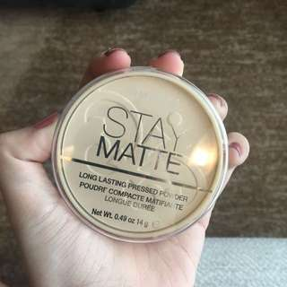 Rimmel Stay Matte Powder Transparent